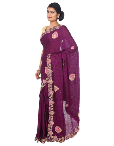ranas-by-kshitija-beautiful-deep-wine-saree-with-zardozi-work