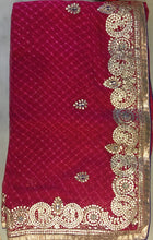 ranas-by-kshitija-finest-gota-work-leheriya-saree