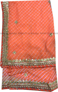 ranas-by-kshitija-peach-leheriya-danka-gota-saree