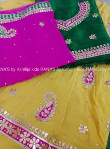 ranas-by-kshitija-pink-yellow-gota-patti-kids-lehenga
