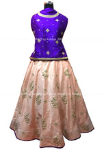 ranas-by-kshitija-pretty-peach-lehenga-in-zarozi-work
