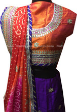 ranas-by-kshitija-purple-orange-bandhani-lehenga-chunni