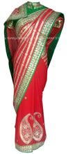 Fascinating red saree - Rana's by Kshitija