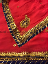 ranas-by-kshitija-red-danka-gota-saree
