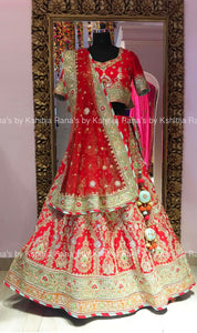Regal Red Bridal Lehenga Set