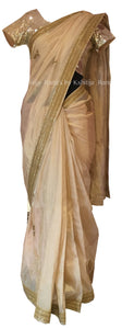 Rich Pure Tissue Saree with Marodi Work