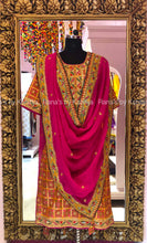 Rich Silk Salwar Suit with Rich Marodi Resham Work - Rana's by Kshitija
