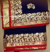 ranas-by-kshitija-blue-fine-gota-handworked-saree