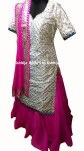 ranas-by-kshitija-skirt-kurta-dress-set-in-gota-and-aari
