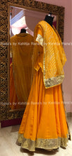 Pure Georgette Yellow Rajputi Poshak