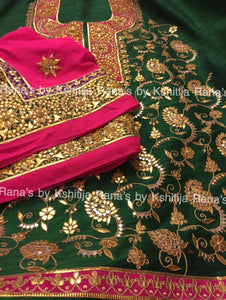 Full Jaal Salwar Suit with Rich Dupatta - Rana's by Kshitija