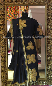 Pretty Deep Blue Salwar Suit