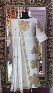 Virtuous White Salwar Suit