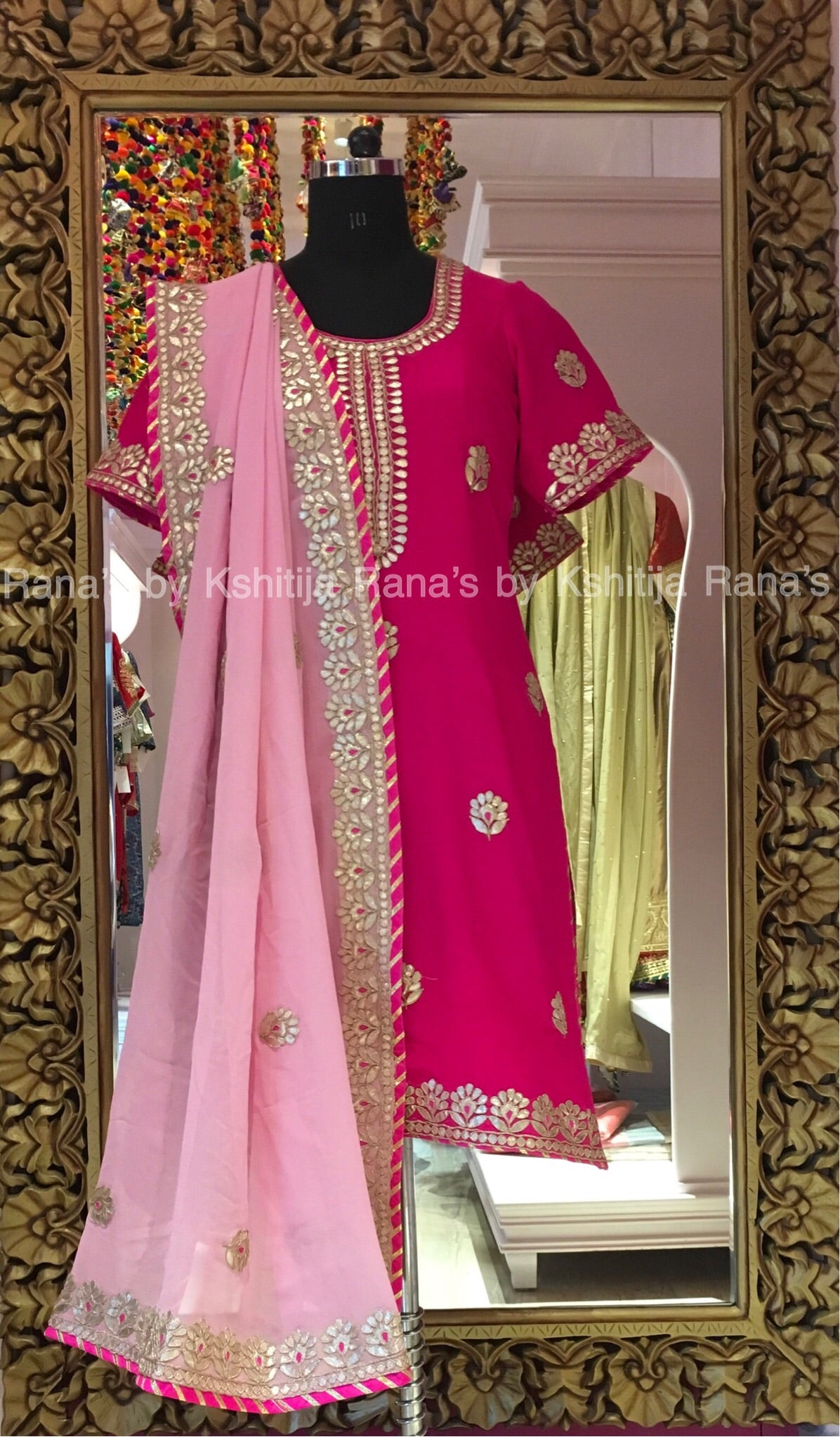 Pretty Pink and Rani Salwar Suit