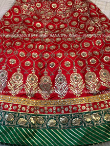 Royal Rajputi Lehenga Set in Handwork