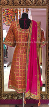 Rich Silk Salwar Suit with Rich Marodi Resham Work