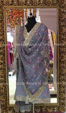 Pretty Ribbon and Gota worked salwar suit