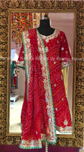 Red Full Bandhani Salwar Suit