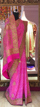 Pure Banarasi saree with rich Marodi handwork