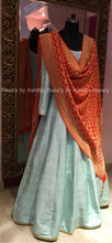 Pure Raw Silk Kalidar with Pure Banarsi Bandhani dupatta