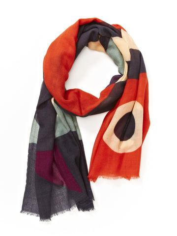 scarves -  wool/silk blend