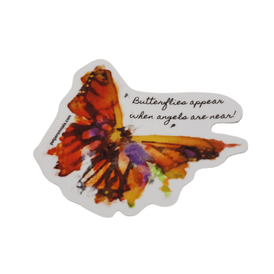 Butterfly Blessings Decal (for Gift Service) - Pet Perennials