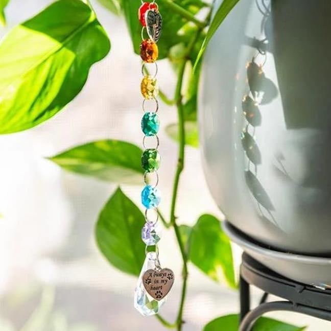 Crystal Rainbow Suncatcher - Pet Perennials