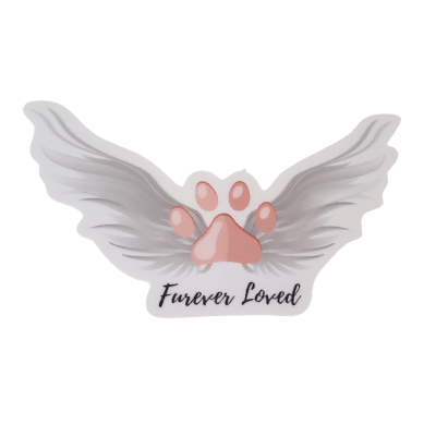 Furever Loved Decal - Pet Perennials