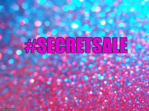 Our First #SECRETSALE