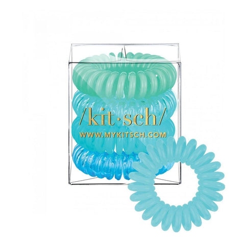 KITSCH - Sea Vibe Hair Coils - Pack of 4