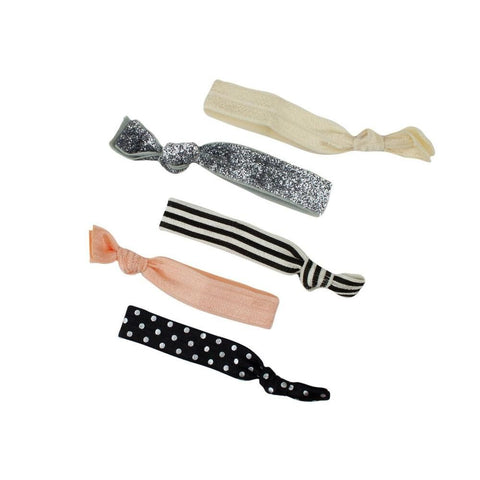 KITSCH - Bonbon Hair Tie Set of 5