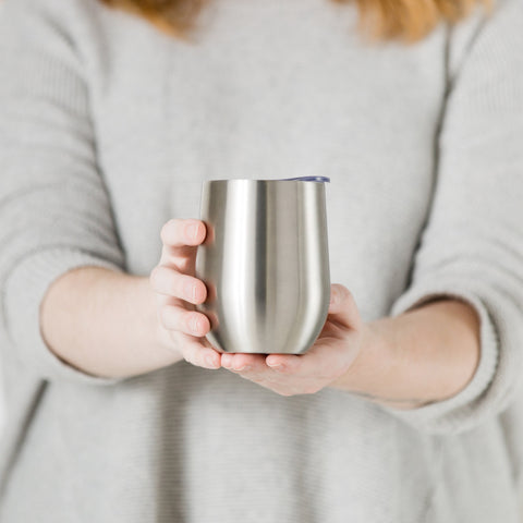 SWIG - Stainless Steel 12oz Stemless Wine Cup
