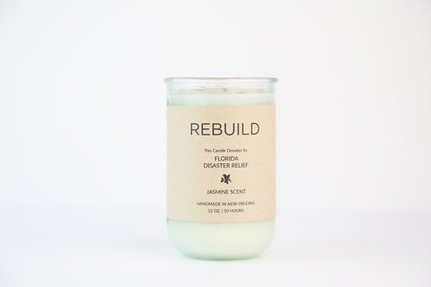 Goods That Matter - Candles For Good - Rebuild, Disaster Relief