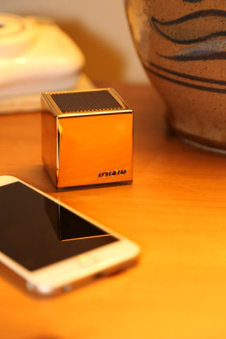 Fydelity - Imixid Cub3 Bluetooth Speaker- Gold Finger