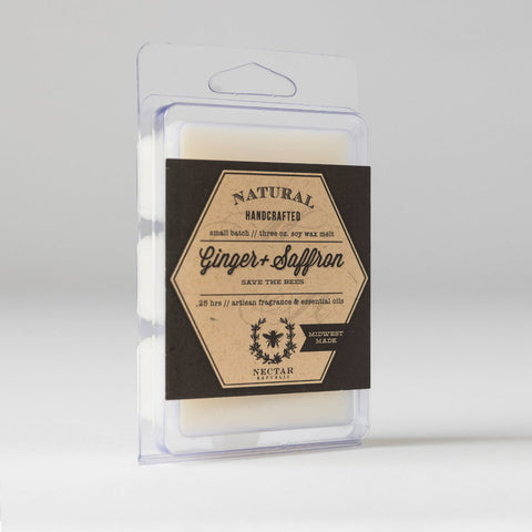 Nectar Republic - Ginger + Saffron : Wax Melt