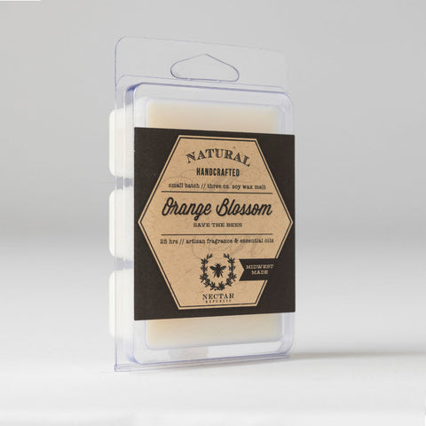 Nectar Republic - Orange Blossom : Wax Melt