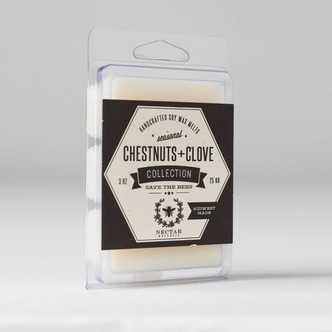 Nectar Republic - Chestnut + Clove : Wax Melt