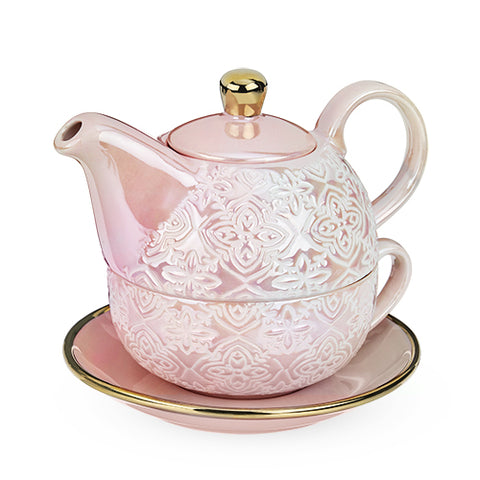 Pinky Up - Pink Addison™ Marrakesh Tea for One Set