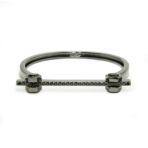 NICOLE MILLER 'Artelier' Hexagon Bolt Bar Bracelet