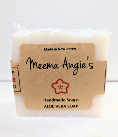 Meema Angie's Aloe Vera Face and Body Cleansing Soap Bar