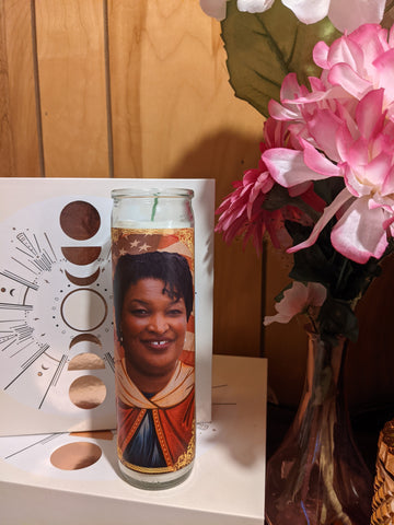 Saint Stacey Abrams Prayer Candle