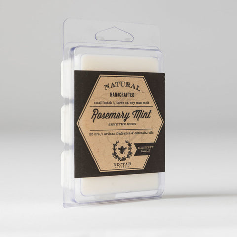 Nectar Republic - Rosemary Mint : Wax Melt