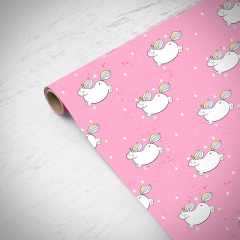 House Of Wonderland - Magical Unicorn Gift Wrapping Paper