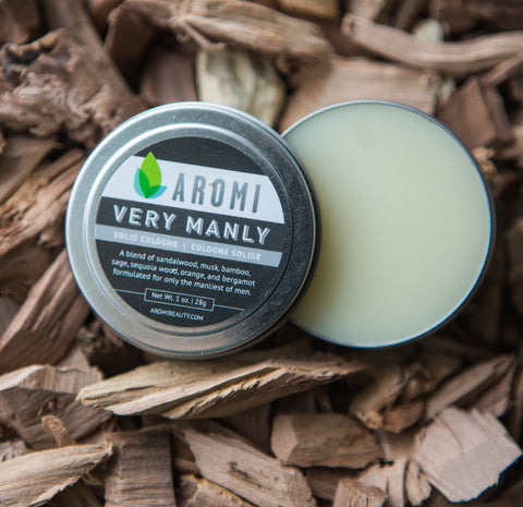 "Aromi - ""Very Manly"" Solid Cologne"