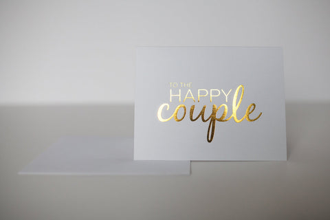 Wrinkle and Crease - Happy Couple Greeting Card