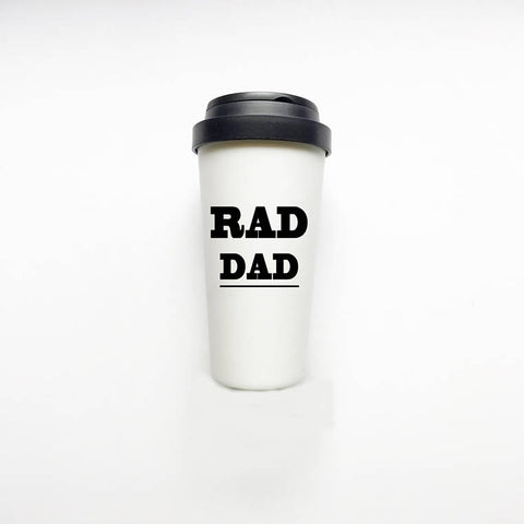 The Golden Type - Rad Dad Travel Mug