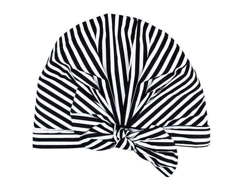 KITSCH - Stripe Shower Cap