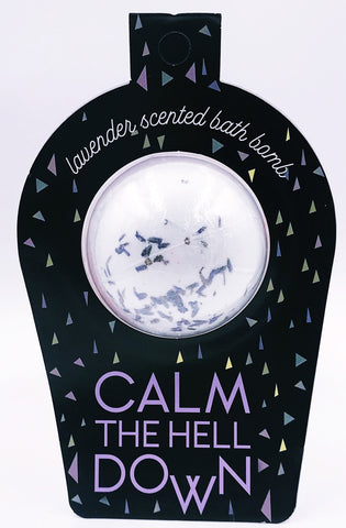 "Fun Club ""Calm the Hell Down"" Bath Bomb"