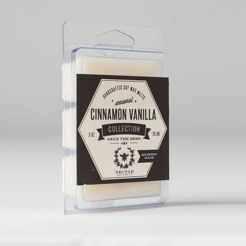 Nectar Republic - Cinnamon Vanilla : Wax Melt