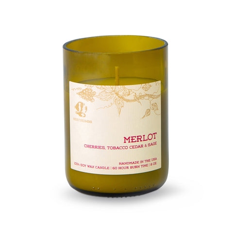 Rescued Wine - Merlot Soy Candle Balance Colletction